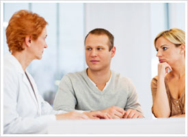 psychiatric nurse counseling couple