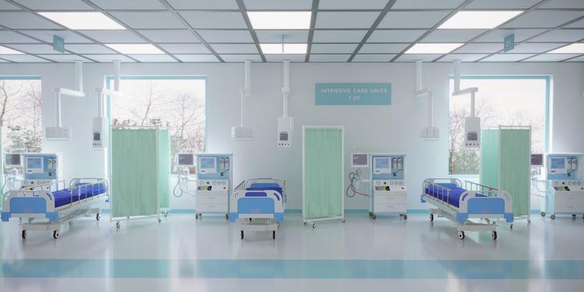 emergency room beds